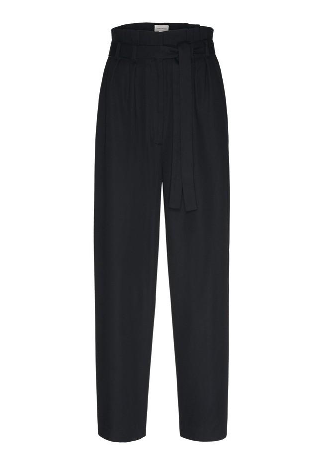 Pantalon noir en tencel - timeaa - Armedangels num 4
