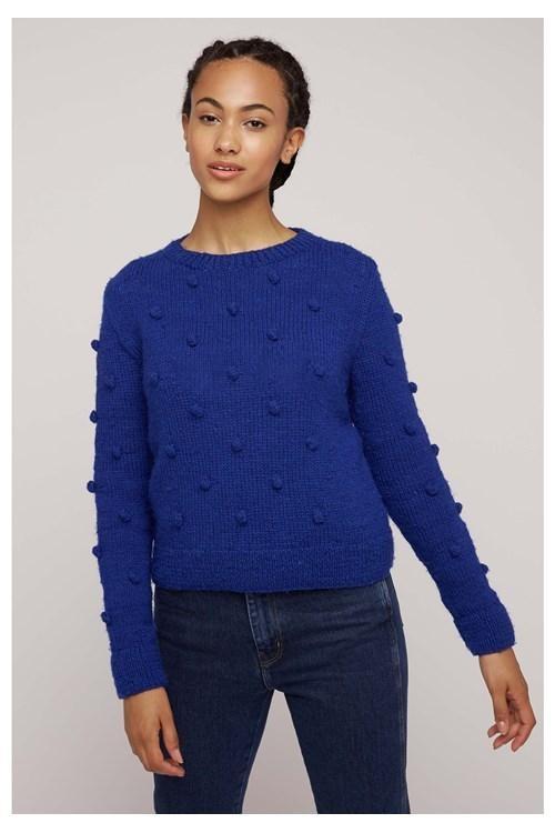 Pull bleu en laine - gigi - People Tree num 1