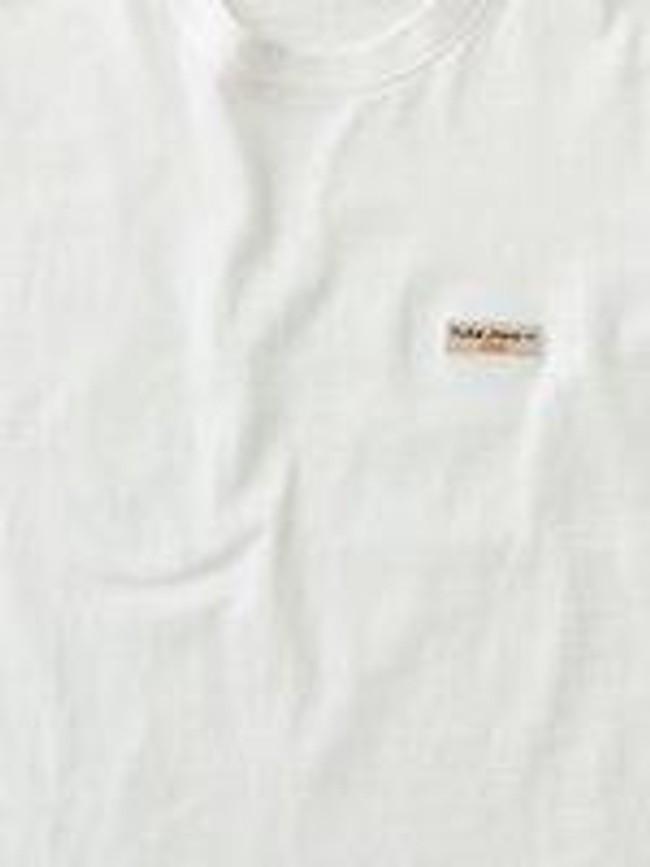 T-shirt blanc en coton bio - daniel - Nudie Jeans num 3