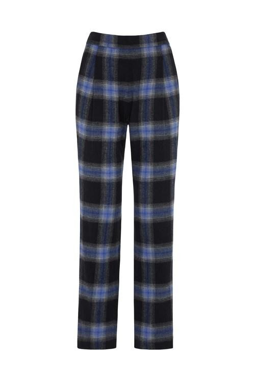Pantalon carreaux en coton bio - reiko - People Tree num 8