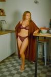 Carmen kimono mocha - Nénés Paris - 1