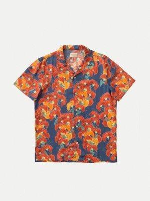 Chemise manches courtes à fleurs en tencel  - arviid - Nudie Jeans num 7