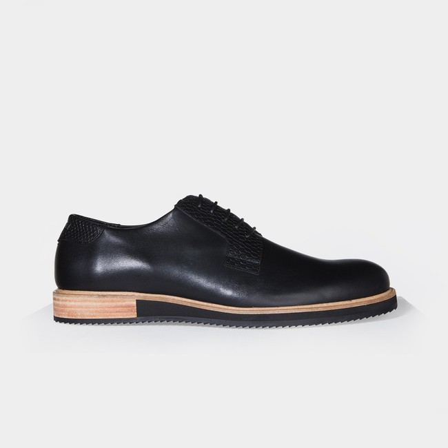 Derbies alpha low - noir - Subtle