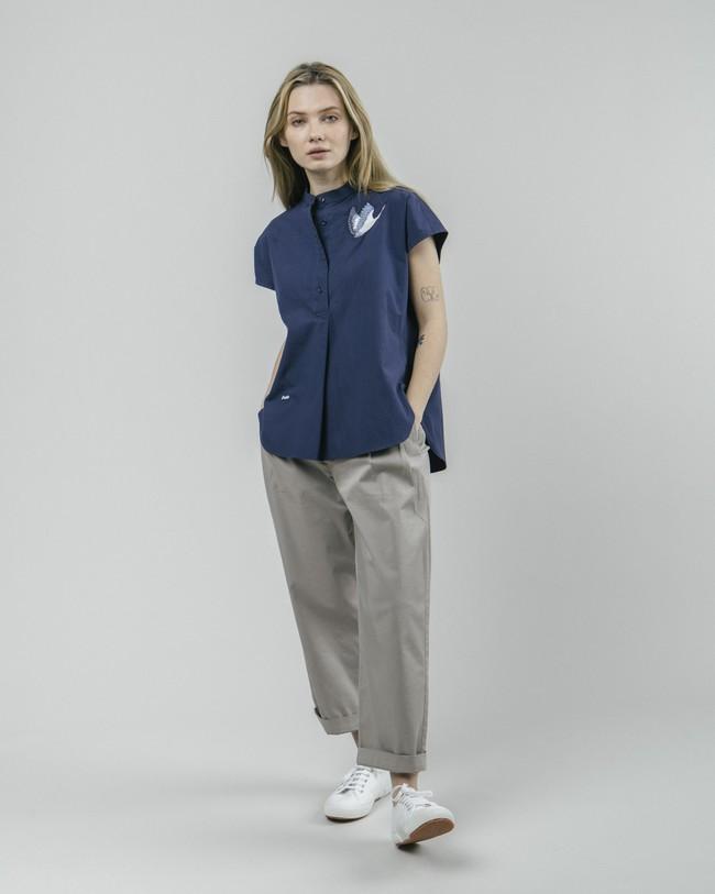 Crane for luck essential blouse - Brava Fabrics num 3