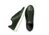 Chaussure en gravière cuir vert sapin - Oth - 2