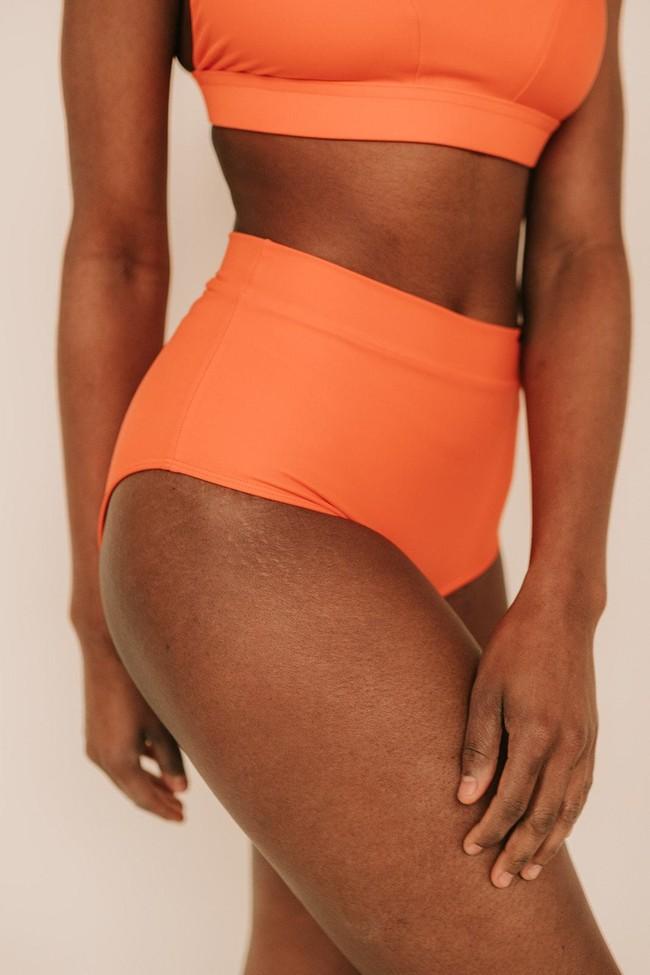 Piha Beach - le bas - orange ethnico - Maline num 7