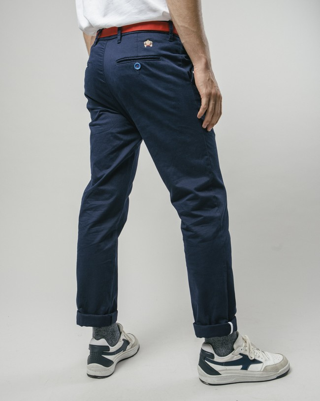 Sumo boy navy chino pants - Brava Fabrics num 5