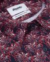 Golden flower printed blouse - Brava Fabrics - 3