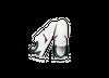 Chaussure en glencoe cuir blanc / suède sapin - Oth - 2