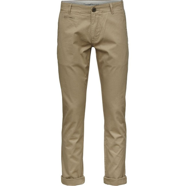 Chino beige en coton bio - chuck - Knowledge Cotton Apparel