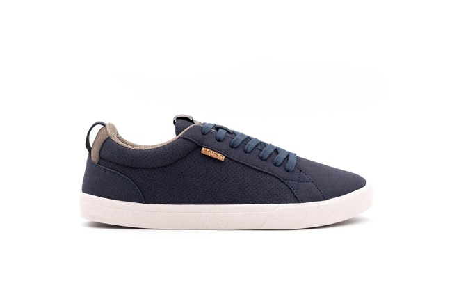 Chaussures recyclées cannon blue night homme - Saola num 2