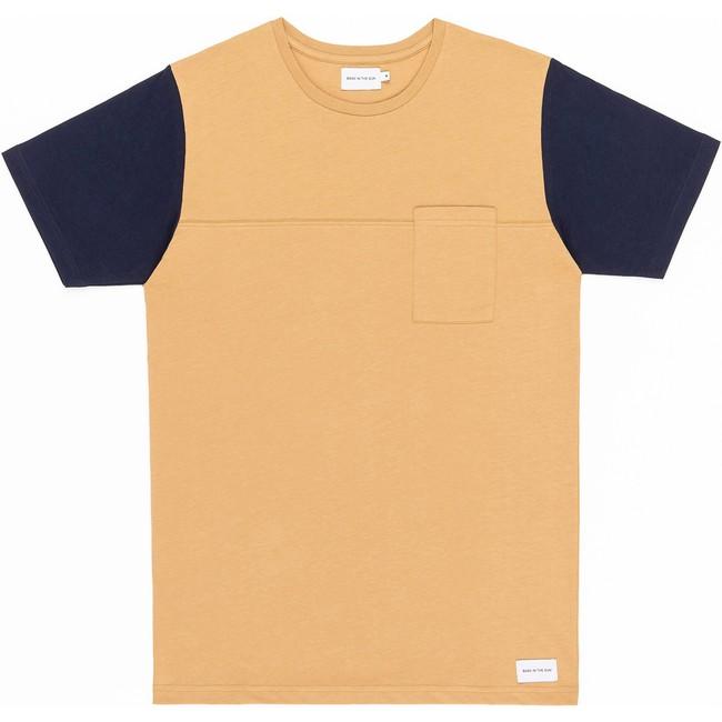 T-shirt en coton bio sand teofilo - Bask in the Sun
