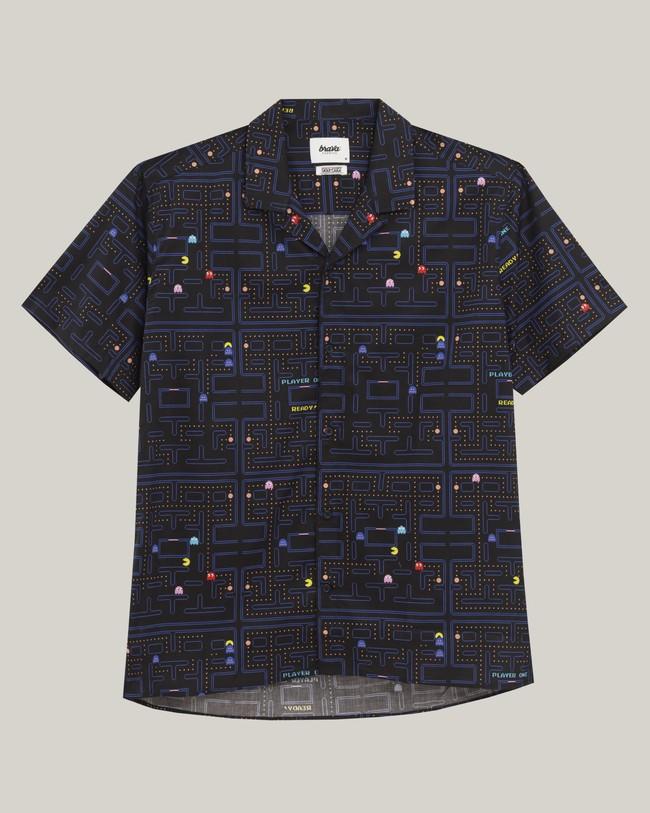 Maze pac-man™ x brava aloha shirt - Brava Fabrics num 1