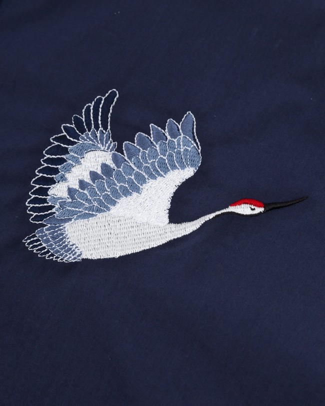 Crane for luck essential blouse - Brava Fabrics num 2