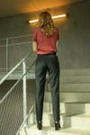 Pantalon tailleur new-york vert profond - 17h10 - 6