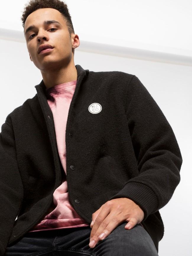 Veste en laine noire - bengan - Nudie Jeans num 3