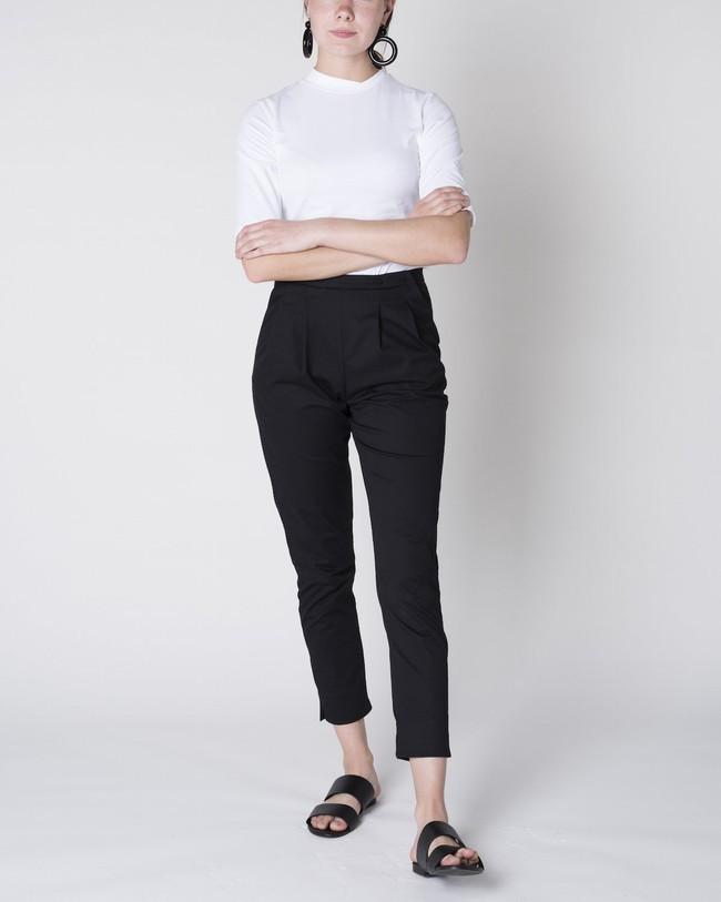 Pantalon à pinces noir - page - Jan'n June num 2