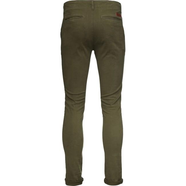 Pantalon kaki en coton bio - Knowledge Cotton Apparel num 3