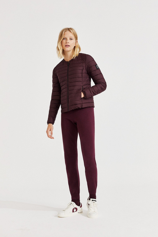 Doudoune violette recyclée - usuahia jacket - Ecoalf