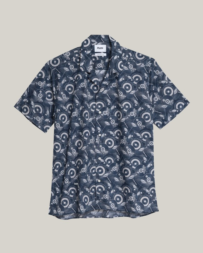 The osaka parasol aloha shirt - Brava Fabrics num 1