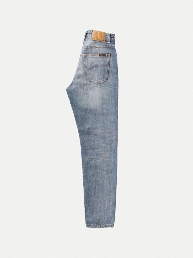 Jean mom bleu clair délavé en coton bio - breezy britt springtime - Nudie Jeans num 6