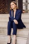 Pantalon tailleur new-york bleu marine - 17h10 - 4