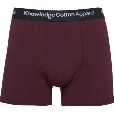 Boxer bordeaux en coton bio - Knowledge Cotton Apparel