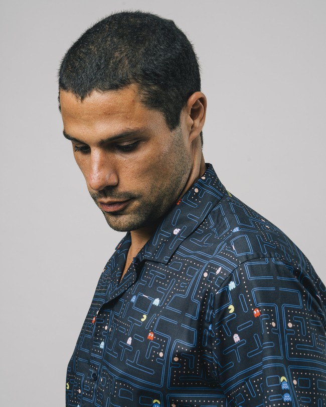 Maze pac-man™ x brava aloha shirt - Brava Fabrics num 4