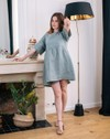 Robe en lin zlem manches courte - Aatise - 3