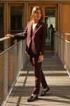 Pantalon tailleur new-york prune - 17h10 - 4