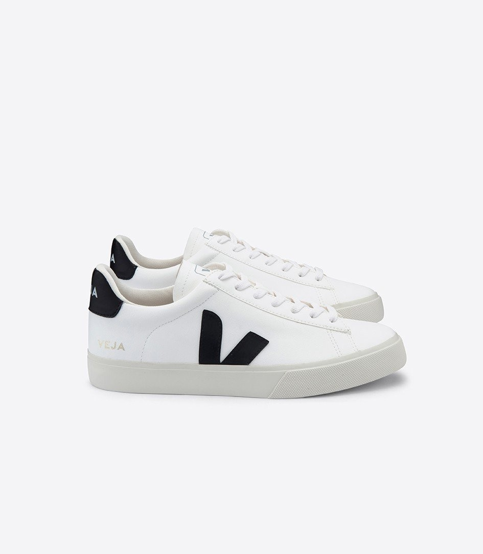 Baskets campo white black - Veja