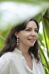 Boucles d'oreilles feuilles hoya kerrii - argent recyclé - Elle & Sens - 5