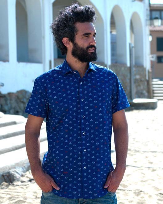 Printed shirt paper boat - Brava Fabrics num 7