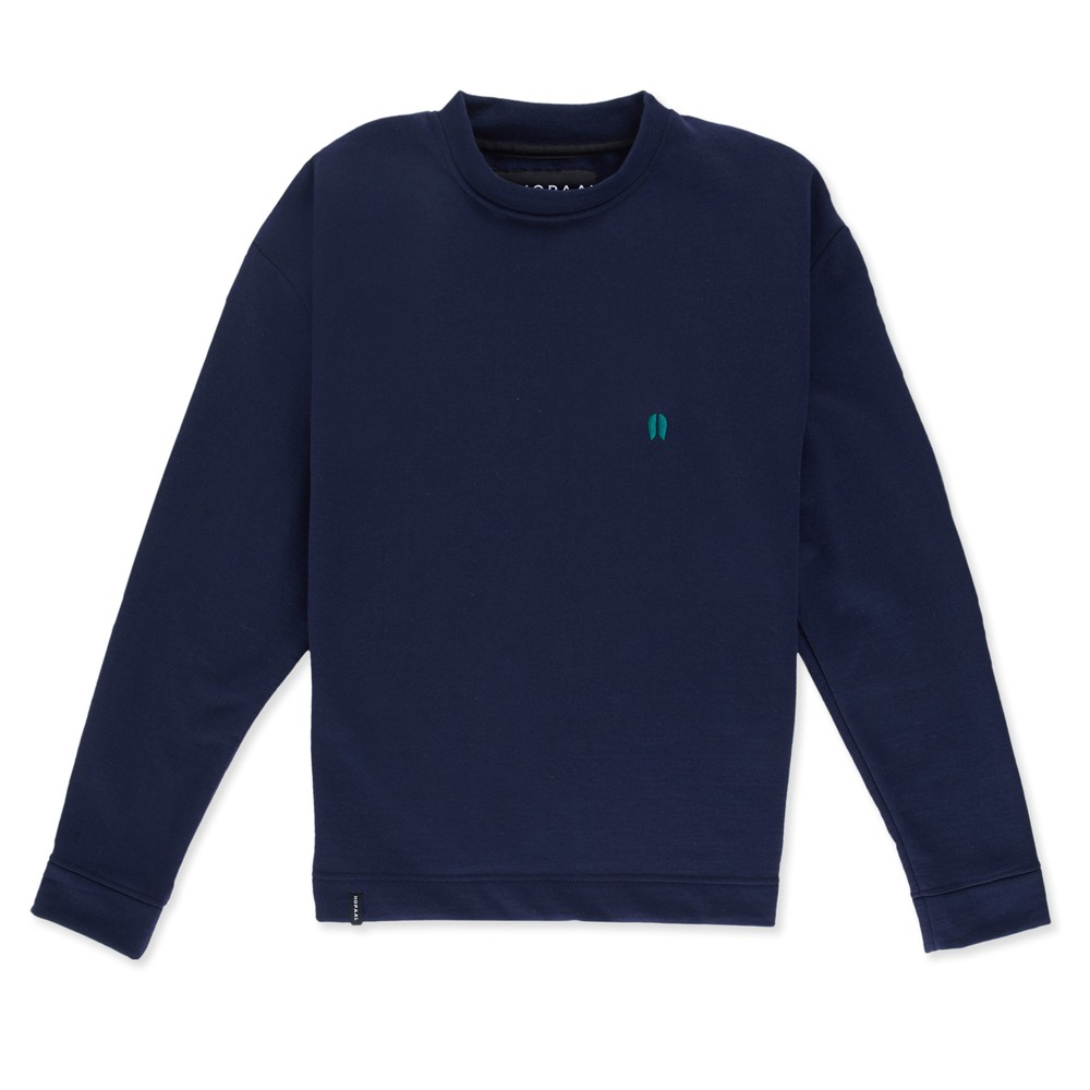 Sweat recyclé - classique night blue - Hopaal
