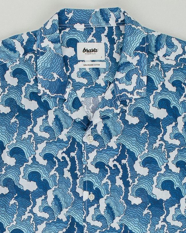 Pacific dream aloha shirt - Brava Fabrics num 1