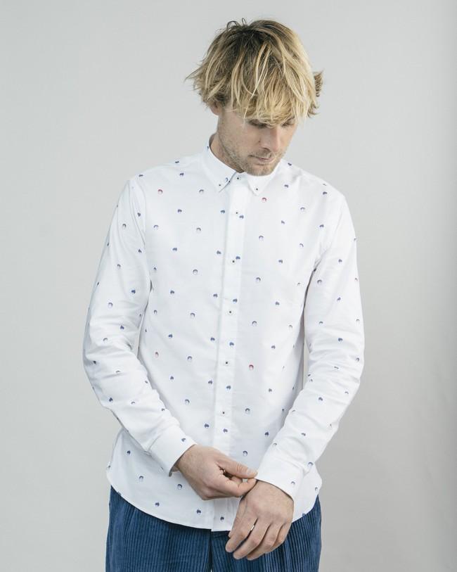 Printed shirt akito - Brava Fabrics