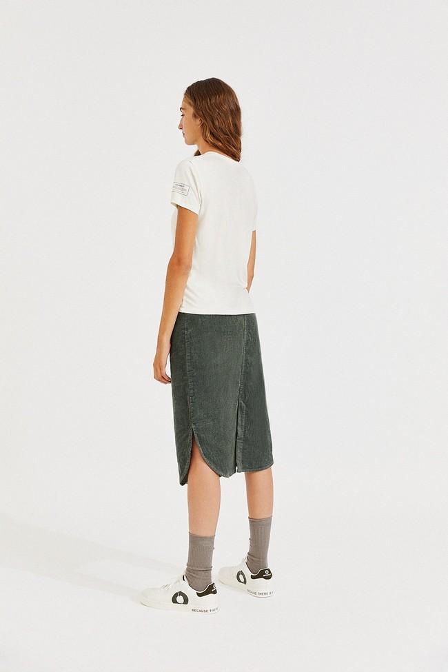 T-shirt écru en lenzing - going - Ecoalf num 3