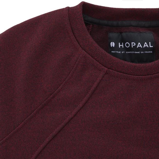 Sweat recyclé - original bordeaux - Hopaal num 5