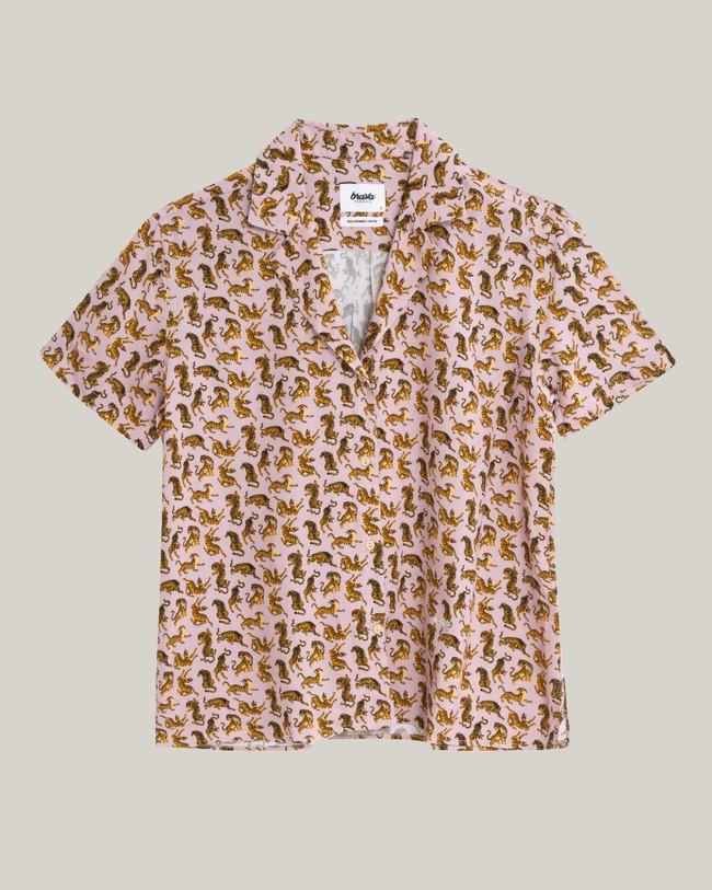 Roar roar aloha blouse - Brava Fabrics num 1