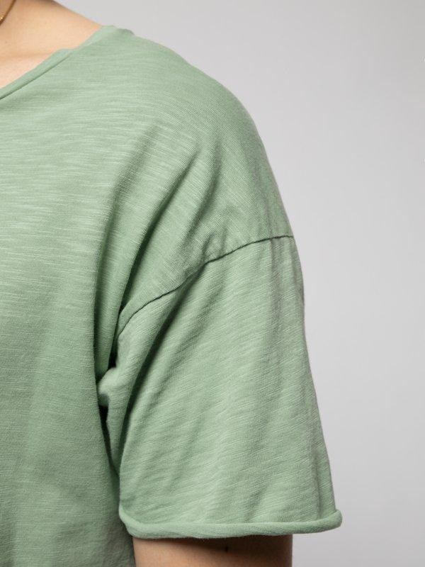 T-shirt vert en coton bio - roger - Nudie Jeans num 5