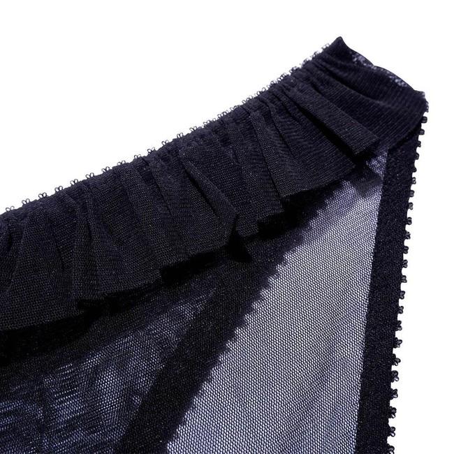 Culotte noire en polyester recyclé - nikoline - Underprotection num 4