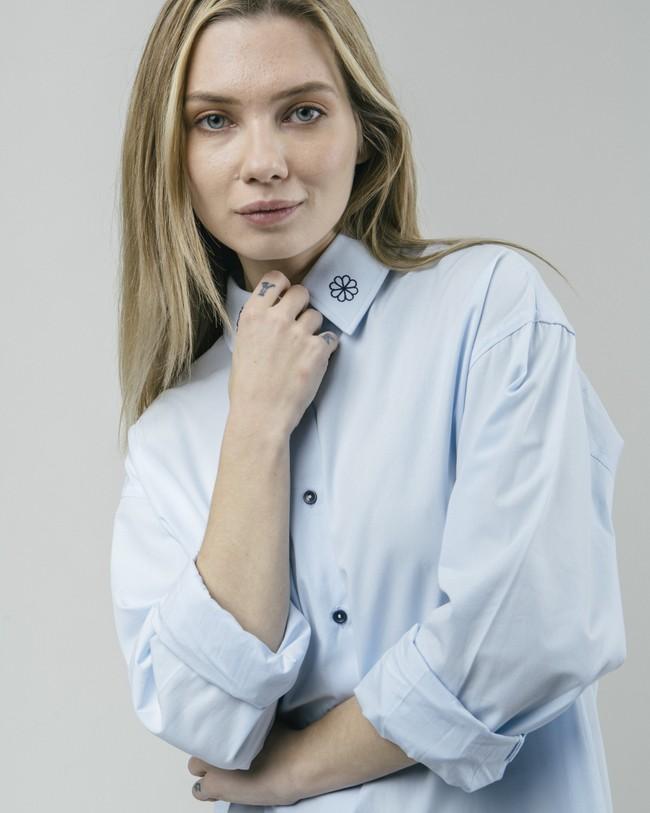 Tile essential oversized blouse - Brava Fabrics num 4