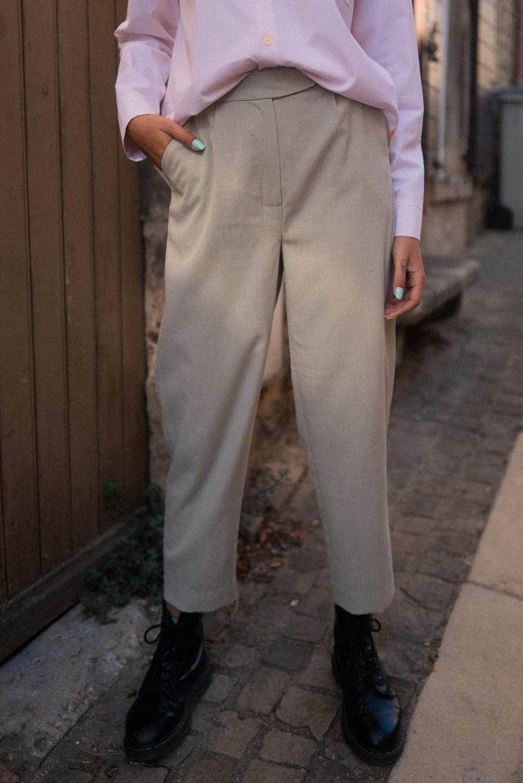 Pantalon gris - Alfa