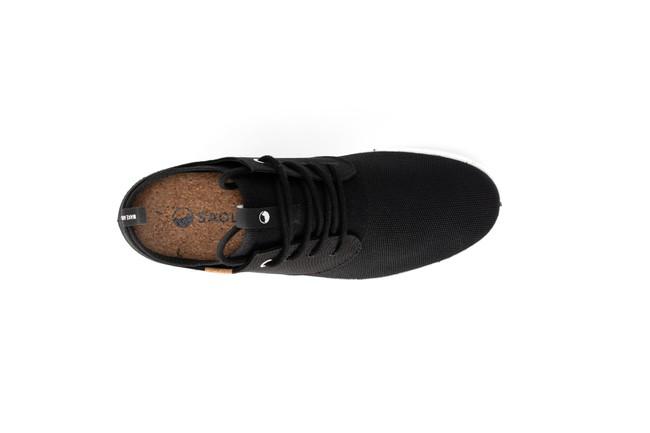 Chaussures recyclées semnoz homme noir - Saola num 3