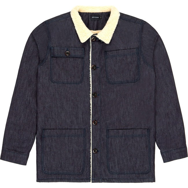 Veste en coton bio denim dachi - Bask in the Sun