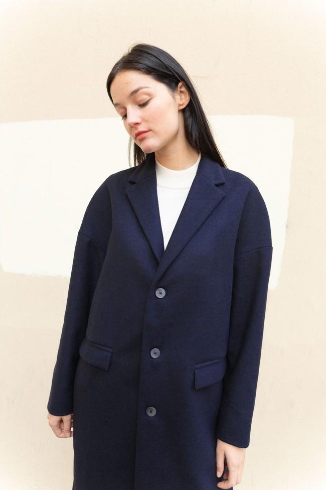 Manteau genoa laine & cachemire - Noyoco num 1