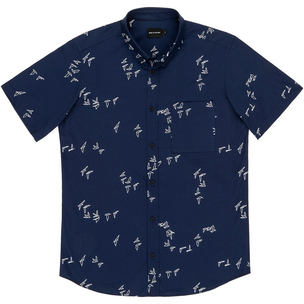 Chemise navy seagull - Bask in the Sun