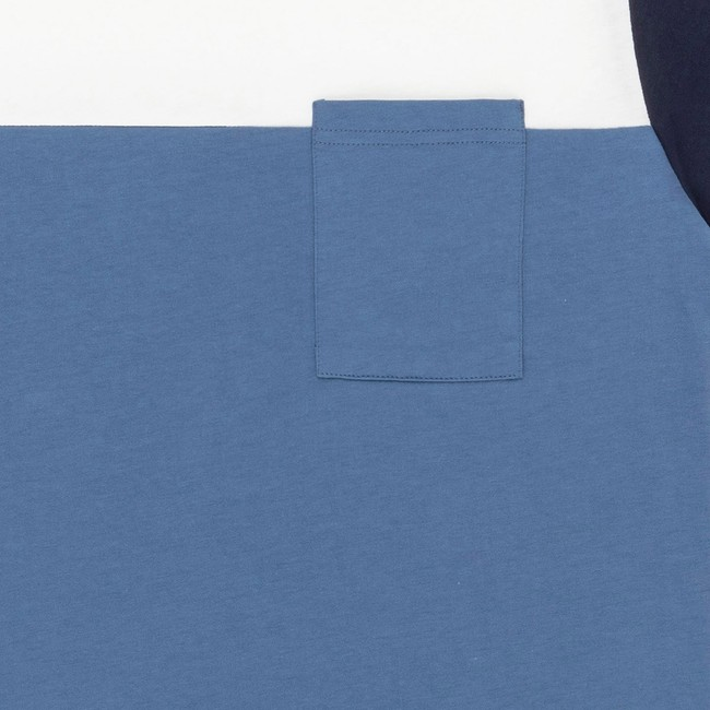 T-shirt en coton bio blue teofilo - Bask in the Sun num 2