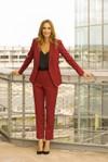 Pantalon tailleur new-york rouge - 17h10 - 4
