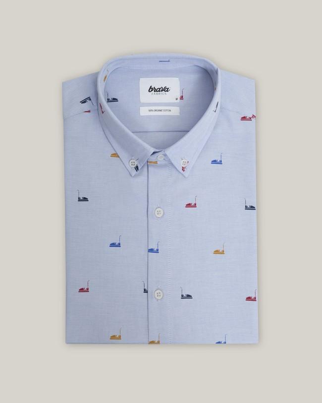 Autoscooter essential shirt - Brava Fabrics num 1